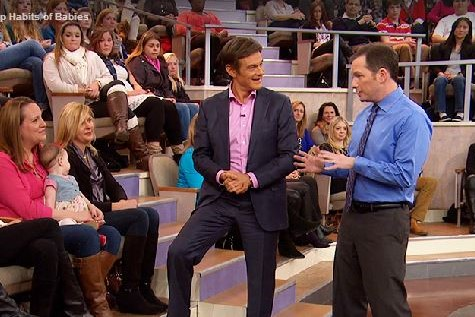 Dr. Breus talking to Dr. Oz